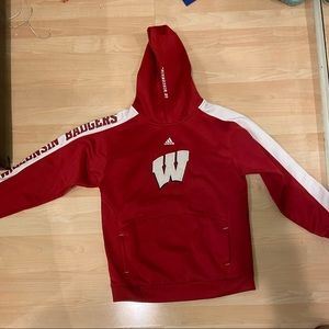 Size Small Wisconsin Badgers Adidas Hoodie